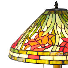 Tiffany Style Lamp Shades by Daffodil Tiffany Style Table Lamp Amazon Com