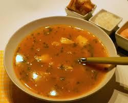 cuisine soupe de poisson soupe de poisson apprêtée à ma façon sans gluten et sans lactose