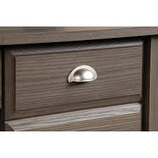 Sauder Shoal Creek Dresser Instructions by Amazon Com Sauder Shoal Creek Computer Desk In Diamond Ash