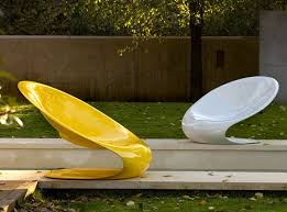Modern Outdoor Chair Disk By Karim Rashid