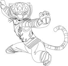 Awesome Kung Fu Panda Coloring Pages 83 For Your Adults With