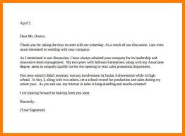 11 example interview thank you letter