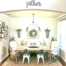 Farmhouse Wall Decor Ideas Contemporary Dining Room Design Rustic Buffet Images Formal