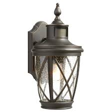 outdoor motion wall light progress lighting cypress collection 1