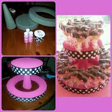 DIY cake pop holder I made this for a Minnie Mouse themed party Received