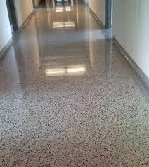 terrazzo floors installation modern home interiors easy clean
