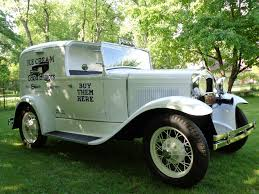100 Restored Trucks 1931 Model A Ford Ice Cream Truck Now A Museum Piece