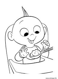 Coloriage Bebe Les Indestructibles Disney Jack Jack Parr Dessin à Imprimer Coloriage Vaiana Bebe