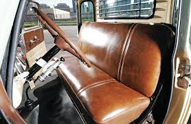 1950-chevrolet-3100-front-seats-08 - Lowrider Cerullo Seats Chevrolet Truck Front 3point Seat Belts For Bench Morris Classic Console Shorty Custom Car Best The Easy Rider Truck Bench Upholstery 1953 Etsy 1966 C10 Studio Chevrolet Chevy C10 Custom Pickup American Truckamerican 1949 Pickup Built By Dp Updates Trick60 1960 Plus On Twitter Tmis Reveal Of Classic Interior Inside Cabin Stock Photo Edit Now 633644693