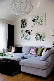 modernes hellgraues sofa übereck im bild kaufen