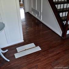 Steam Mop On Prefinished Hardwood Floors by Painting A Prefinished Hardwood Floor Part One