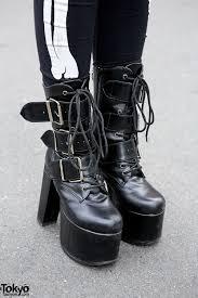 demonia platform boots u2013 tokyo fashion news