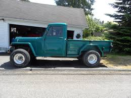 100 1950 Willys Truck Pickup The HAMB