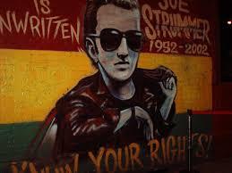 Joe Strummer Mural New York City by Lor And Cin U0027s Rock N U0027 Roll Adventures New York Rock City