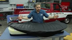 LMC Truck: Seat Upholstery Kit Installation With Kevin Tetz - YouTube Leatherlite Series Leather Custom Fit Seat Covers Fia Inc Smittybilt Gear Coves The Leader In Universal Dodge Truck By Clazzio Upholstery Options For 731987 Chevy Trucks Hot Rod Network 2017 Ram Amazoncom Cushion Winter Car Pad Cushion Electric Heated Durafit C1127v7 Trupickup Silverado Duraplus Carstruckssuvs Made America Free Car Seat Pets Reviews Chartt Traditional Covercraft