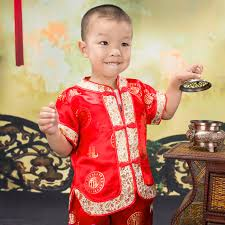 summer gorgeous embroidered children ancient chinese costume baby