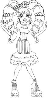 Monster High Coloring Pages Print