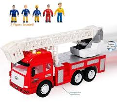 100 Fire Truck Sirens FUNERICA Toy With Lights And Sounds 4
