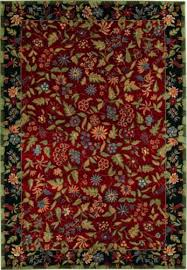 Shaw Kathy Ireland Home Gallery Italian Garden Red Closeout