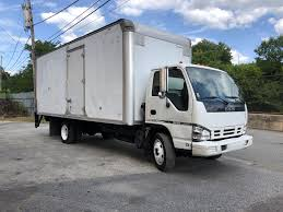 100 20 Ft Truck Isuzu NQR Foot NON CDL Van With Lift Gate TA Sales Inc