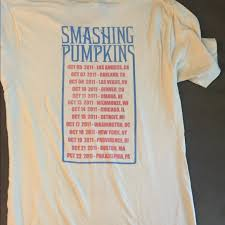 Smashing Pumpkins Merchandise T Shirts by Urban Outfitters Vintage Smashing Pumpkins Tour Shirt Size Small