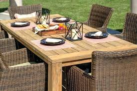 Beautiful Teak Patio Set Or Outdoor Furniture Tables Sets