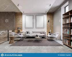 100 Decorated Wall Open Space Zone Apartment With Sofa And Armchair And
