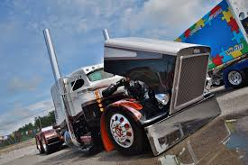 100 359 Peterbilt Show Trucks Years Top Show Trucks Crowned Pride Polish Champs At GATS