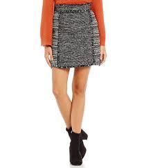french connection pixel mix cotton mini skirt dillards