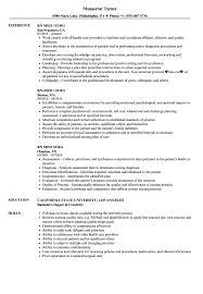 Download Med Surg RN Resume Sample As Image File