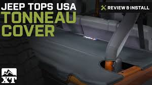 Jeep Wrangler Jeep Tops USA Tonneau Cover (2007-2016 JK) Review ...