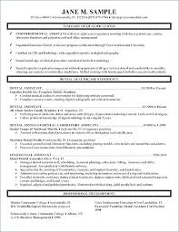 Resume Format For Medical Job Fresh Dental Assisting A Registered Nurse Template Military Experience Example