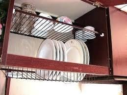 kitchen cabinet dish drying rack – upandstunningub