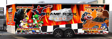 Gallery - Game Rock Los Angeles Video Game Truck Party