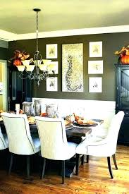Fall Dining Room Table Decorating Ideas Rustic Decor