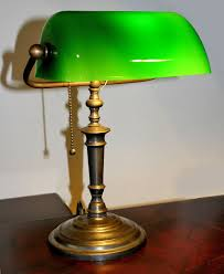 Bankers Lamp Green Glass Shade by Decoration Green Desk Lamp Banker Products Steampunk Lamp Banker