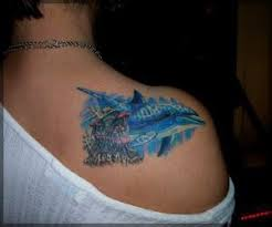 Adorible Dolphin Tattoo