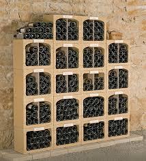 casiers à bouteilles de cave de bourgogne duobloc