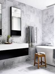 Get Inspired With 25 Black And White Bathroom Design Ideas White Bathroom Design Ideas Shower For Small Spaces Grey Top Trends 2018 Latest Inspiration 20 That Make You Love It Decor 25 Incredibly Stylish Black And White Bathroom Ideas To Inspire Pictures Tips From Hgtv Better Homes Gardens Black Designs Show Simple Can Also Be Get Inspired With 35 Tile Redesign Modern Bathrooms Gray And