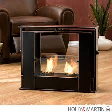 Holly & Martin Walton Portable Indoor Outdoor Gel Fireplace 37 249