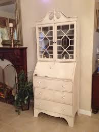 Drop Front Secretary Desk by Bella Vintage Furnishings Secretary Desk Dresser Bella Vintage
