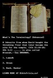 Threshing Floor Bible Meaning by Learn More About The Jehovah God The Bible And Our Christian