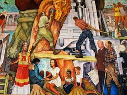 pan american unity mural by diego rivera in san francisco