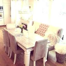 Upholstered Dining Room Bench With Back Benches Backs