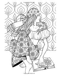 Amazon Groovy 70s Fashion Coloring Book For Adults Adult Books
