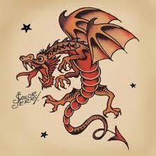 Sailor Jerry Tattoos Setwidth1680 Dragons