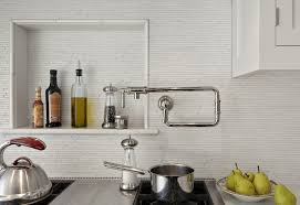 Nice Galley Kitchen Ideas With Pot Filler
