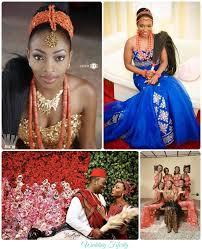 Igbo Traditional Wedding – Brides Grooms and Bridesmaids