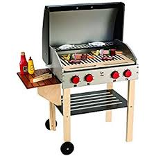 Hape Kitchen Set India by Hape Gourmet Bbq Grill And Shish Kabob Wooden Kitchen Play Food