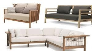 canapé teck jardin salon de jardin design meubles d extérieur et astuces d across